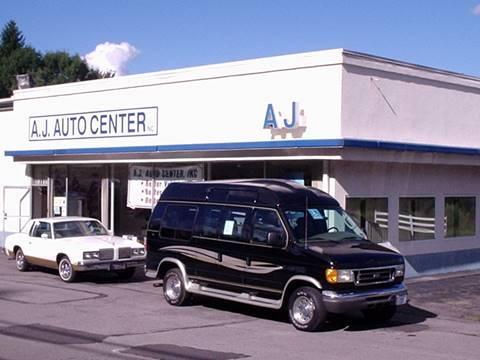 2004 Ford E-250 for sale at AJ AUTO CENTER in Covington PA