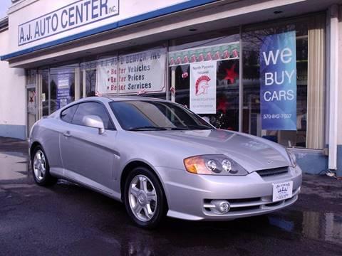 2004 Hyundai Tiburon for sale at AJ AUTO CENTER in Covington PA