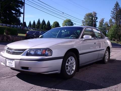 2001 Chevrolet Impala for sale at AJ AUTO CENTER in Covington PA