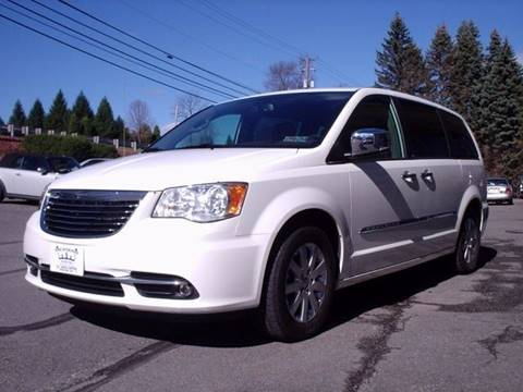 2011 Chrysler Town and Country for sale at AJ AUTO CENTER in Covington PA