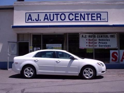 2012 Chevrolet Malibu for sale at AJ AUTO CENTER in Covington PA