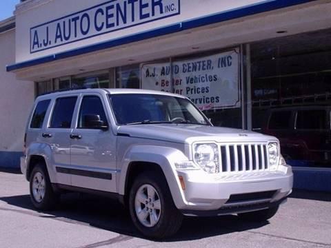 2010 Jeep Liberty for sale at AJ AUTO CENTER in Covington PA
