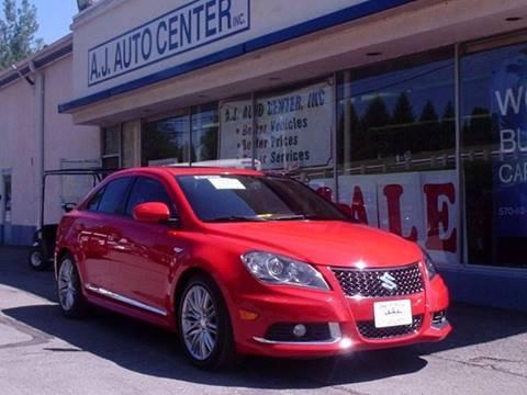 2011 Suzuki Kizashi for sale at AJ AUTO CENTER in Covington PA