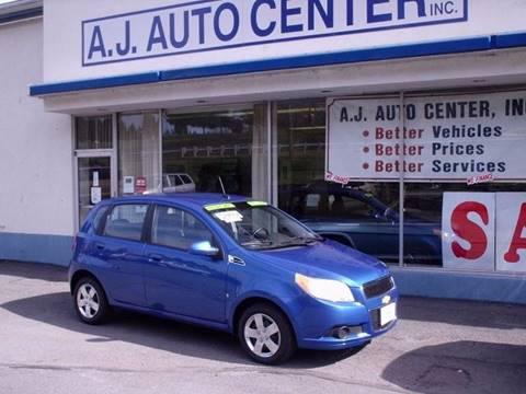 2009 Chevrolet Aveo for sale at AJ AUTO CENTER in Covington PA