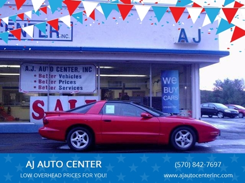 1997 Pontiac Firebird for sale in Covington Township, PA