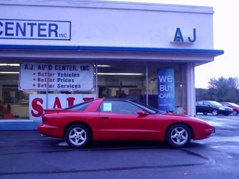 1997 Pontiac Firebird for sale in Covington Township PA