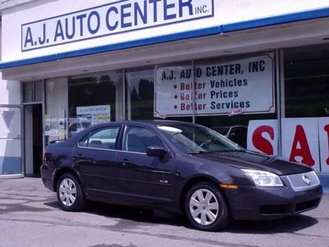 2007 Mercury Milan for sale at AJ AUTO CENTER in Covington PA