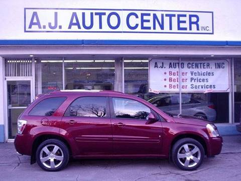 2008 Chevrolet Equinox for sale at AJ AUTO CENTER in Covington PA