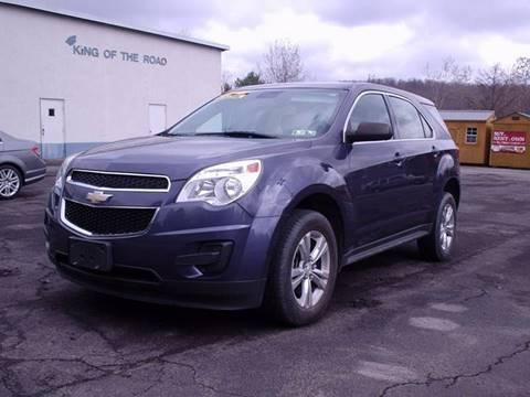 2013 Chevrolet Equinox for sale at AJ AUTO CENTER in Covington PA