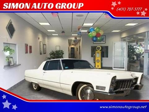 1967 Cadillac DeVille for sale in North Providence, RI
