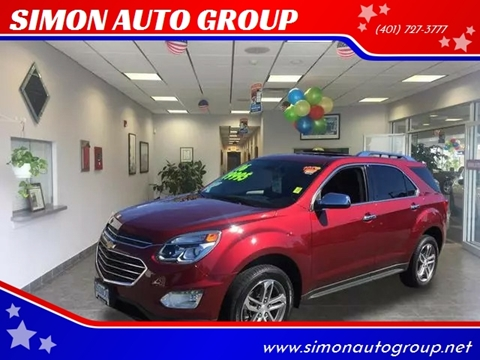 2016 Chevrolet Equinox for sale in North Providence, RI