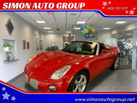 2006 Pontiac Solstice for sale in North Providence, RI
