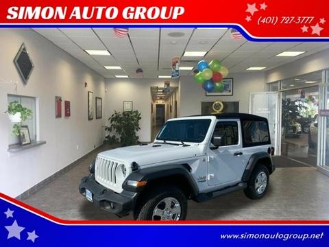 2018 Jeep Wrangler for sale in North Providence, RI