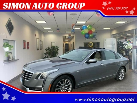 2018 Cadillac CT6 for sale in North Providence, RI
