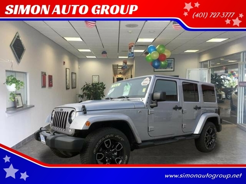2018 Jeep Wrangler Unlimited for sale in North Providence, RI