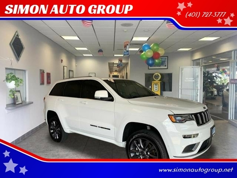 2019 Jeep Grand Cherokee for sale in North Providence, RI