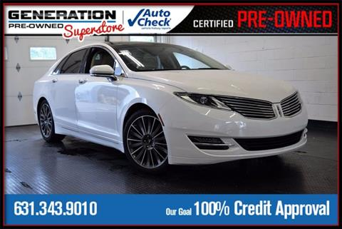 2014 Lincoln MKZ for sale in Bohemia, NY