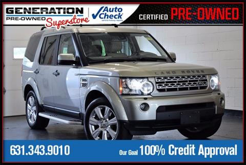 2013 Land Rover LR4 for sale in Bohemia, NY