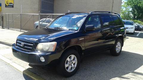 2003 Toyota Highlander for sale in Camden, NJ