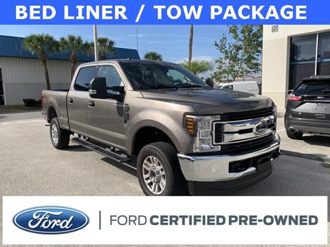 2019 Ford F-250 Super Duty for sale at Kisselback Ford in Saint Cloud FL