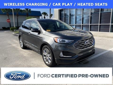 2019 Ford Edge Titanium for sale at Kisselback Ford in Saint Cloud FL