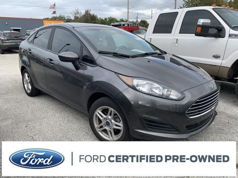 2017 Ford Fiesta SE for sale at Kisselback Ford in Saint Cloud FL