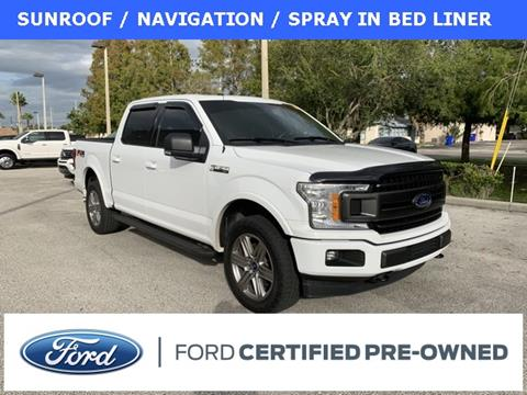 2018 Ford F-150 for sale at Kisselback Ford in Saint Cloud FL