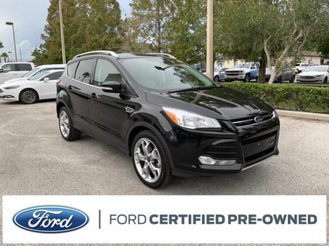 2015 Ford Escape Titanium for sale at Kisselback Ford in Saint Cloud FL