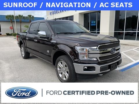 2018 Ford F-150 King Ranch for sale at Kisselback Ford in Saint Cloud FL
