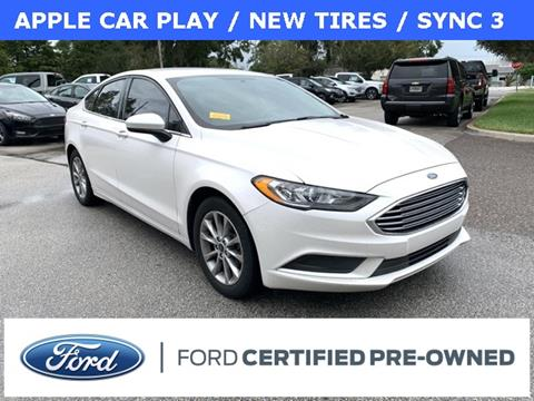 2017 Ford Fusion SE for sale at Kisselback Ford in Saint Cloud FL