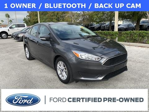 2017 Ford Focus SE for sale at Kisselback Ford in Saint Cloud FL