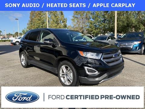 2018 Ford Edge Titanium for sale at Kisselback Ford in Saint Cloud FL