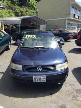 1999 Volkswagen Passat for sale in Shoreline, WA