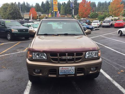 2001 Isuzu Rodeo for sale in Shoreline, WA
