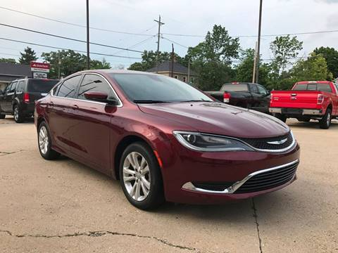 2016 Chrysler 200 for sale at Auto Gallery LLC in Burlington WI