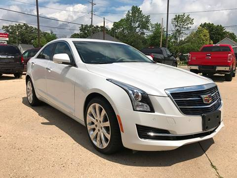 2015 Cadillac ATS for sale at Auto Gallery LLC in Burlington WI