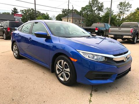 2016 Honda Civic for sale at Auto Gallery LLC in Burlington WI