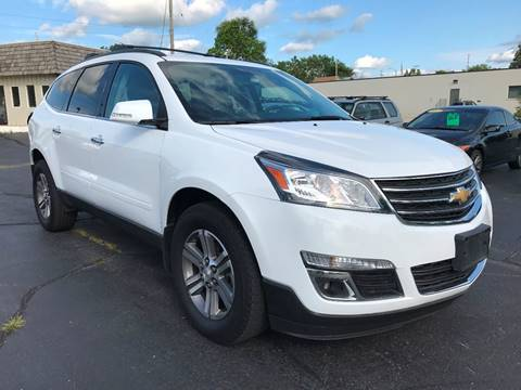 2017 Chevrolet Traverse for sale at Auto Gallery LLC in Burlington WI