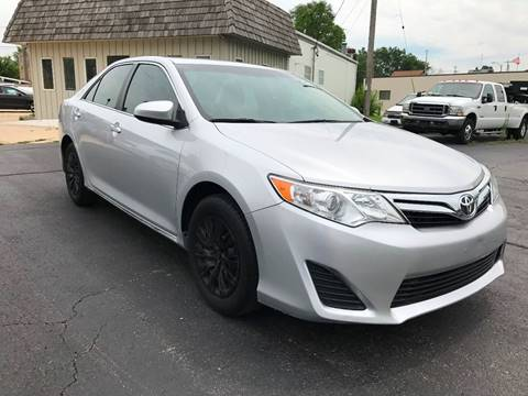 2014 Toyota Camry for sale at Auto Gallery LLC in Burlington WI
