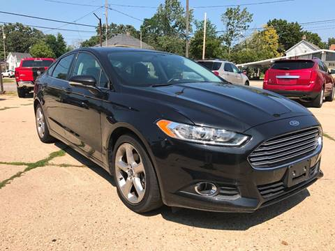2013 Ford Fusion for sale at Auto Gallery LLC in Burlington WI
