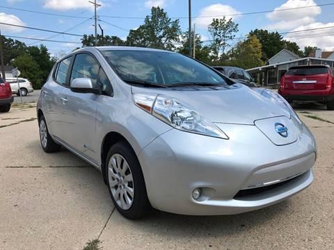 2015 Nissan LEAF for sale at Auto Gallery LLC in Burlington WI