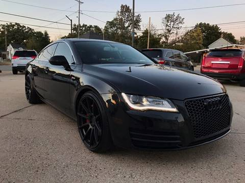 2012 Audi A7 for sale at Auto Gallery LLC in Burlington WI
