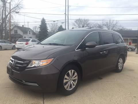2015 Honda Odyssey for sale at Auto Gallery LLC in Burlington WI