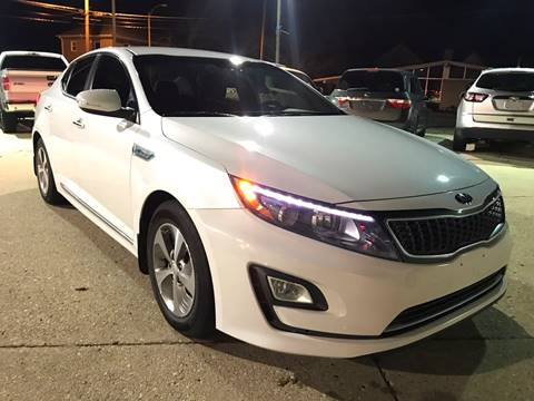 2014 Kia Optima Hybrid for sale at Auto Gallery LLC in Burlington WI
