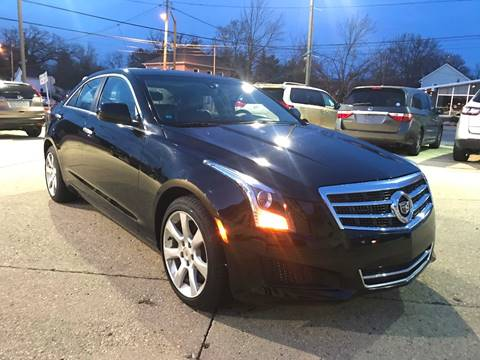 2014 Cadillac ATS for sale at Auto Gallery LLC in Burlington WI