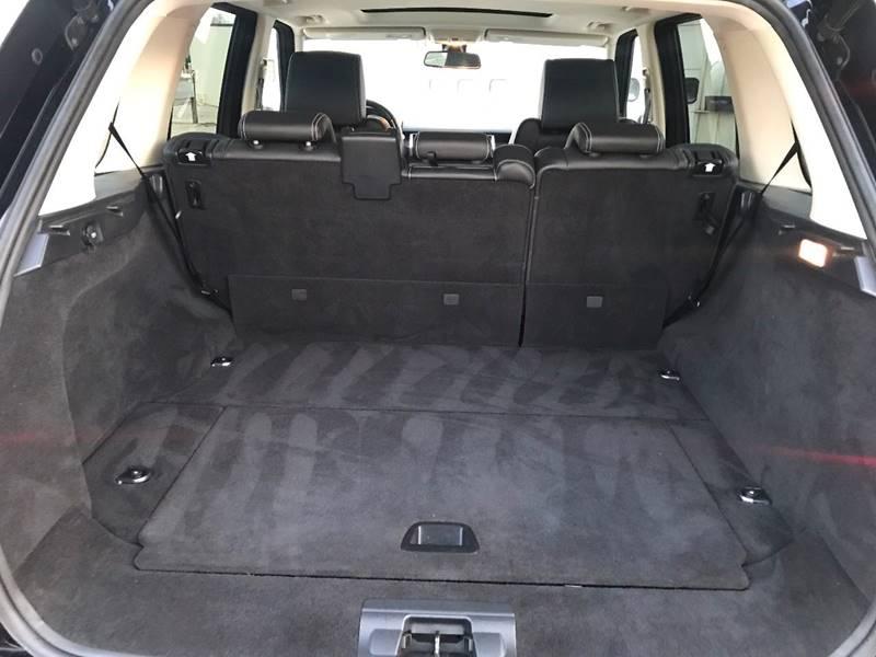 Range Rover Sport Cargo Cover