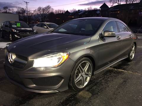 2014 Mercedes-Benz CLA for sale at Auto Gallery LLC in Burlington WI
