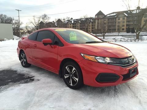 2014 Honda Civic for sale at Auto Gallery LLC in Burlington WI