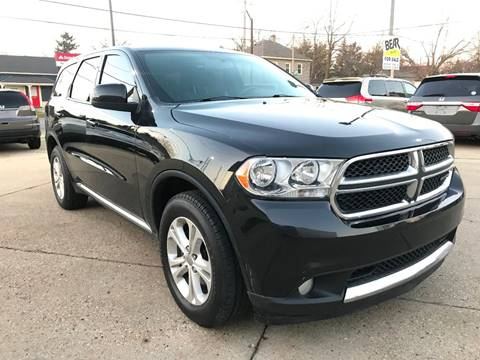 2013 Dodge Durango for sale at Auto Gallery LLC in Burlington WI