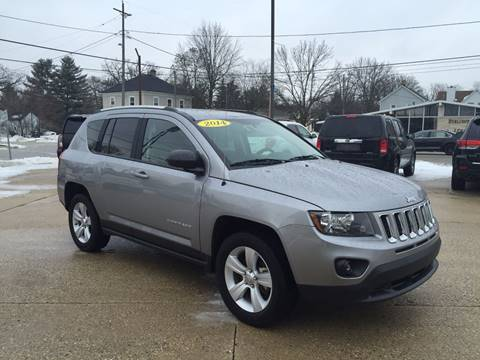2014 Jeep Compass for sale at Auto Gallery LLC in Burlington WI